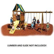 Swing Set Parts Kit Own Build Play Ground Backyard Kids Outdoor Fun Playsets