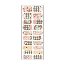 San-x Rilakkuma Nail Patches Decorative Sticker Nail File Baby Pink (SE26201)