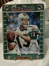 Dan Marino Bradford Ceramic 1st Issue Plate Miami Dolphins Football Coa 1998