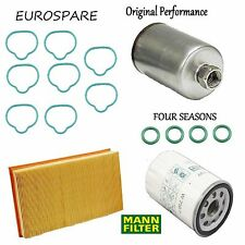 Tune Up Kit Air Oil Fuel Filters Gasket O-Rings for Jaguar Vanden Plas 1998-1999