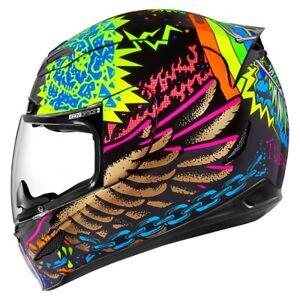 Integral Helm Motorrad ICON Airmada TL Helmet Fluorescent Black
