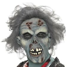 Halloween que Se Decae Zombie Máscara de Disfraz con Pelo Nuevo por Smiffys