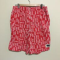 Joker New Sport Fishbone Abstract Surfwear Vintage 90's Shorts Mens Large
