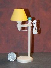 Dollhouse Miniature Floor Lamp Yellow 1:10 scale H58 Bodo Hennig Dollys Gallery