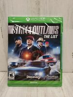 Street Outlaws: The List (Xbox One, 2019) NEW - FACTORY SEALED - FAST SHIPPING!