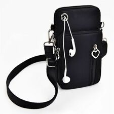 Woman Messenger Bag Mini Shoulder Multi-Function Mobile Phone Earphone Pouch