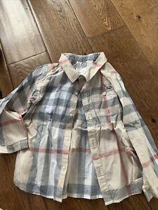 baby burberry shirt