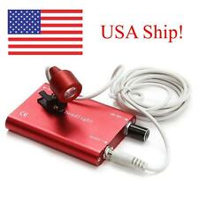 USA Fast!! Portable Red LED Head Light Lamp for Dental Surgical Binocular Loupes