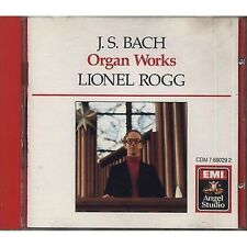 LIONEL ROGG - J.S. Bach - Organ works - CD 1987 OTTIME CONDIZIONI (R)