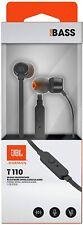 Auriculares JBL Tune 110 Negro- Auricular con cable y micrófono