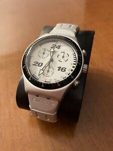 swatch irony chrono aluminium Vintage anno 1997. Con Pila Nuova.