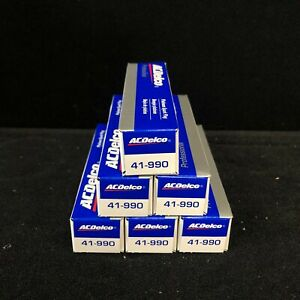 AC Delco 41-990 Platinum Spark Plug Set of 6 for Buick Chevy GMC 3.6L New