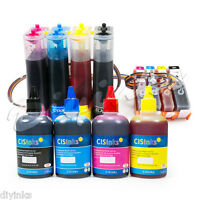 Continuous Ink System with Refill Ink Non-OEM HP Officejet Pro 6230 6830 6835