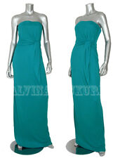 $2,900 GUCCI GOWN STRAPLESS JERSEY LONG DRESS sz IT 38 US 2