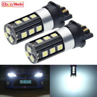 2x White PW24W Error Free DRL Daytime Light LED Bulbs For BMW F30 3 Series 6000k