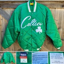 Vintage Celtics Jacket Majestic NBA XL