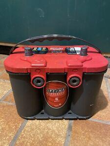 Optima RedTop RT U 4,2 12V 50Ah Autobatterie AGM Batterie USA - US Car CAR HIFI