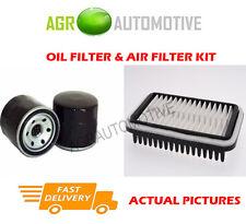 PETROL SERVICE KIT OIL AIR FILTER FOR SUZUKI WAGON R 1.0 65 BHP 1997-00