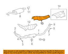 TOYOTA OEM 09-13 Corolla 1.8L-L4 Exhaust-Heat Shield 5815302151