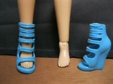 LIV FASHION DOLL midnight dance CLOTHES: BLUE HIGH HEEL FASHION Shoes-EASY ON