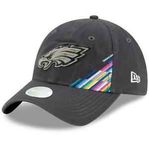 Philadelphia Eagles Women's 2019 NFL Crucial Catch 9TWENTY Adjustable Hat