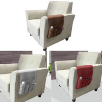 1 Pc Sofa Chair Arm Rest Bedside Hanging Caddy Pockets Storage Bed Organizer