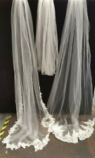 Wedding Veils Different Lengths And Designs x 3 - B229