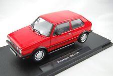 WELLY VW VOLKSWAGEN GOLF 1 MK1 GTI 1:18 DIE CAST METAL MODEL NEW IN BOX 21cm