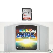 New EVERDRIVE 64 FLASHCART V3 with 8GB NTSC NINTENDO 64