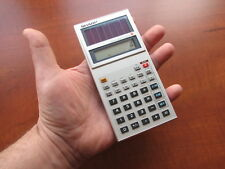 NEW NOS Vintage 1982 Sharp EL-510 LCD Solar Scientific Pocket Calculator (001)