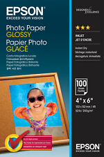 Epson Glossy 4x6 Photo Paper - 100 Sheets
