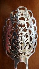 ANTIQUE STERLING SILVER HAIR COMB 18.9 GRAMS