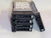 "Lot of 5 Maxtor ATLAS 300GB 10K RPM 3.5"" SAS Hard Drives HD with Caddy Tray"