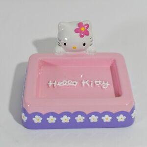 Hello Kitty Girls Ceramic Kitchen Bathroom Shower Accessory Soap Tray Holder