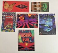 Vintage RAVE Flyer PEACE FROG, RISING SUN, WILLARDS WILD, MARTINI (LOT 129)