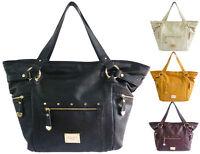 Women LYDC Designer Ladies Leather Style Tote Hobo Satchel Shoulder Handbag Bag