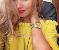 Zara Off Shoulder Lime Green Bardot Frill Top Small S 8 Yellow New BNWT