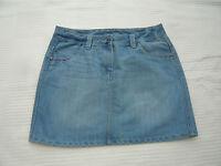 "George distressed / bleached denim style short / mini skirt W 30"" Size 12"
