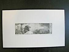 """Daniel Friedmann (*1950) """"Knabe auf Pferd"""" Original-Radierung, 56/60, signiert,"""