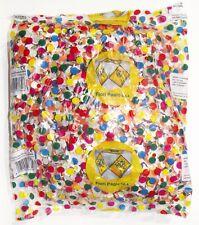 BUSTA CORIANDOLI COLORATI 400 gr sacchetto multicolor party festa animazione