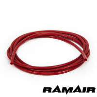 Performance Silicone 3mm x 2m Vacuum Hose - Tube - Boost - Water - Pipe Line Red