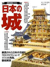 Pictorial book Structure Of Japanese Castles Shiro