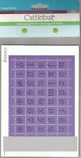 Cuttlebug Embossing Plus *Perforated Postage Alphabet*  2000248