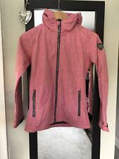 Ladies Girls Pink Killtec Waterproof Windproof Breathable Jacket Coat Size 6-8UK