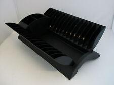 Washing Up Drainer / Draining Black Folding Dish Rack for Caravan Motorhome