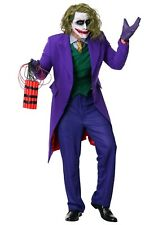 Men'S The Joker Grand Heritage Batman Costume Size Large (with defect)