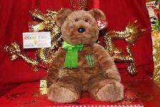 "Ty Billionaire The Beanie Buddy Bear-9""-Mwnmt-2002-N ice Gift"