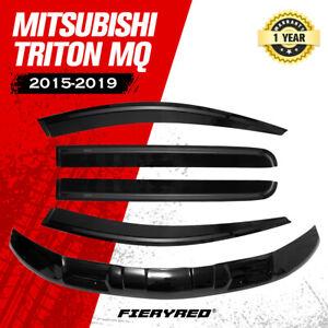 Bonnet Protector & Weather Shield Visor suit Mitsubishi Triton MQ 2015-2019