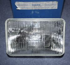 Volvo 740 genuine Headlight USA sealed beam outer insert NOS new old stock