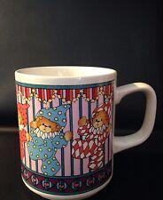 Lucy & Me Lucy Rigg Enesco Clown Teddy Bear Coffee Mug Cup 26